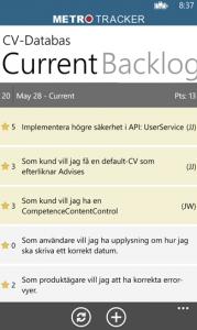 Pivotal Tracker for Windows