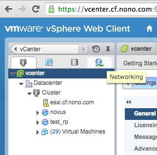 After rebooting we can see that the vSphere Web Client has a valid CA-signed certificate