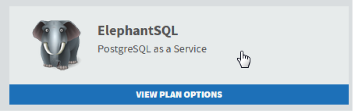 MendixElephantSQL