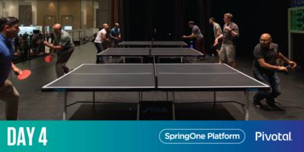 SpringOne Platform Day 4