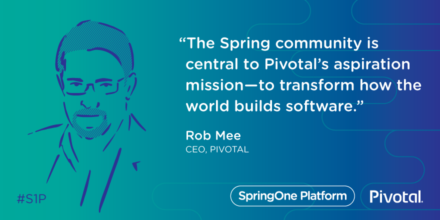 Rob Mee at SpringOne Platform