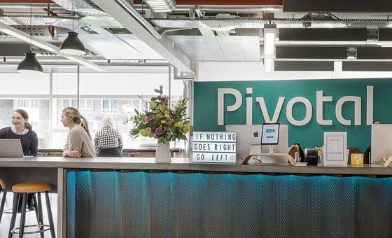 Front of Pivotal office