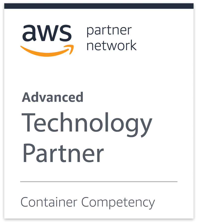 AWS Advanced Technology Partner Container Competency Badge